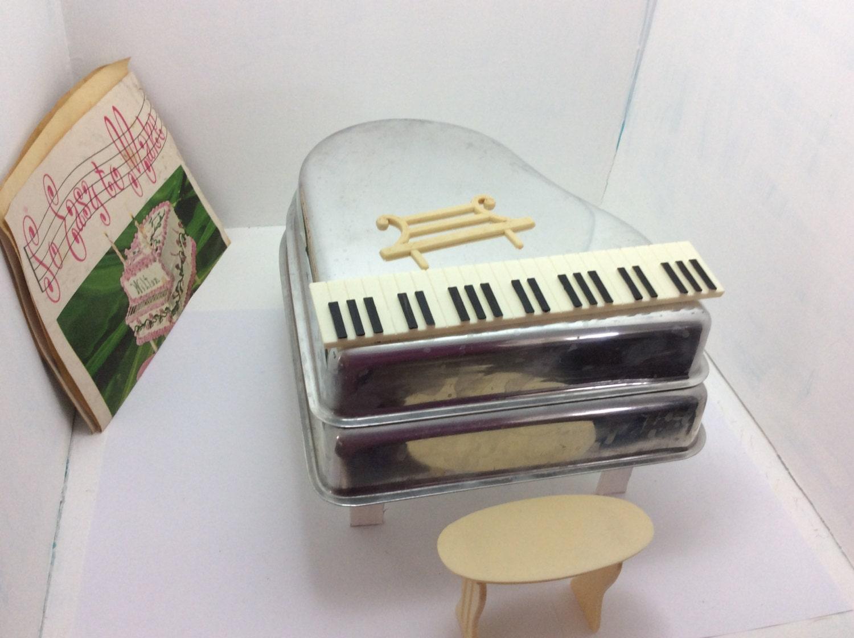 Rare Wilton Piano Cake Pans Vintage Birthdaysmusic Musical
