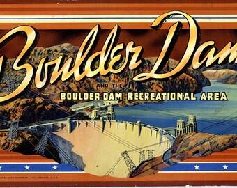 Nevada - Las Vegas - Boulder Dam - Colorado River - Souvenir Album - 1939