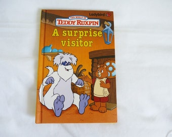Vintage The World of Teddy Ruxpin Ladybird book 1989