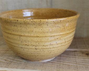 Yellow Serving Bowl