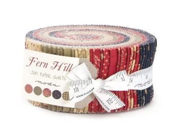Fern Hill by Jan Patek - Jelly Roll - Moda 2180JR