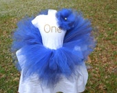 One year Smash cake tutu, headband, and body suit outfit