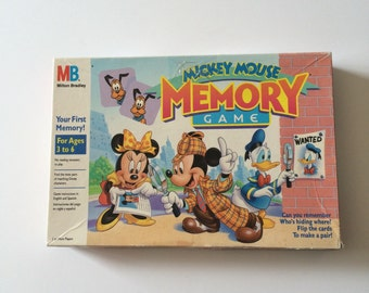 1994 Mickey Mouse Memory Game