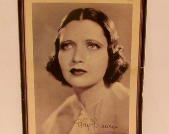 "Portrait of Kay Francis, Star of Warner Brothers ""Dr. Monica"""