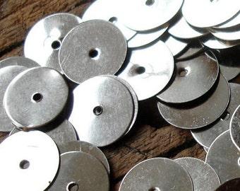 """4,800 x silver colour sequin Moroccan mozuna metal discs handira wedding blanket  624g 10mm or 0.4"""""""