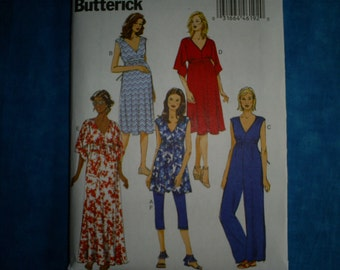 Maternity Butterick 6226 Misses Size 14-22.