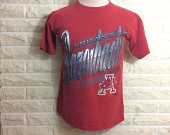 Vintage 1990's Arkansas Razorbacks Shirt!!!