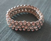 SALE 50% off Diamante elasticated bracelet