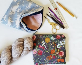 Zippered pouch