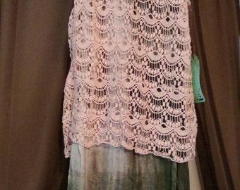 Upcycled layered dress
