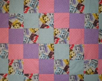 Disney Princesses Patchwork Quilt