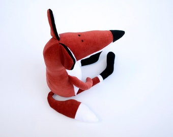 Rusty the Plush Fox, Rusty reddish Stuffed Foxy Toy