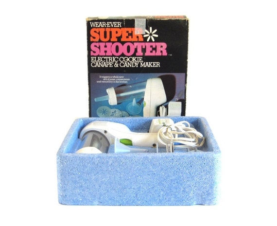 Wearever Super Shooter Cookie Press Electric
