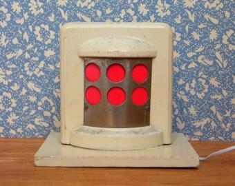 Vintage dollhouse stove