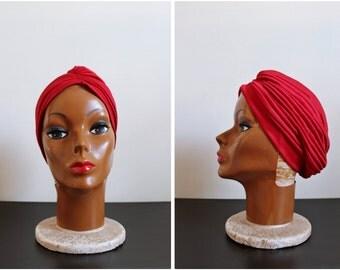 Red Turban / Head Wrap