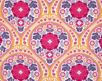 54041 - Joel Dewberry Atrium collection PWJD106  Grace in Fuchsia color - 1 yard