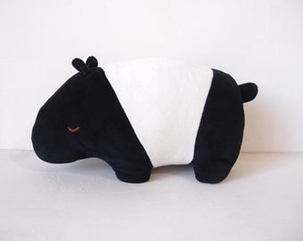 Cute Malayan tapir soft toy -big size