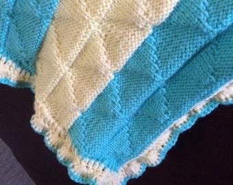"Baby blanket 34""x34"""