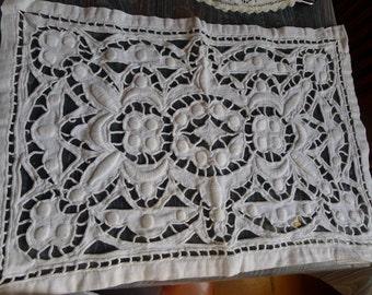 table cloth vintage coton