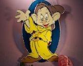 Stained Glass Suncatcher Disney's Dopey (741)