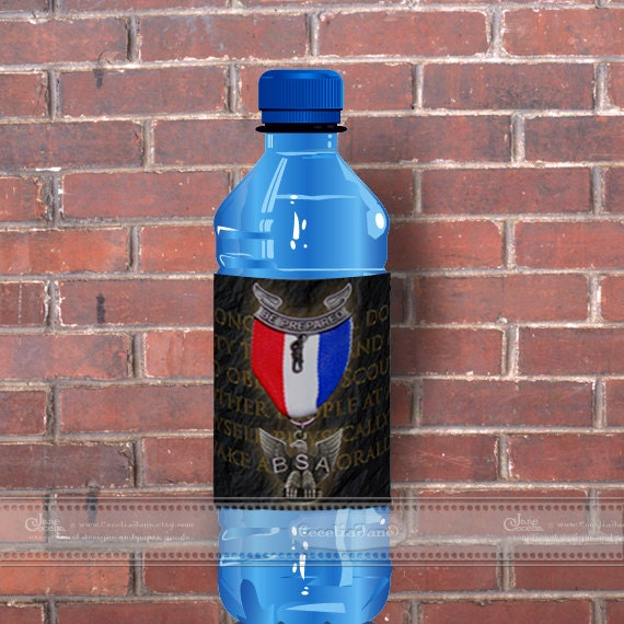instant download Eagle Scout water bottle wrappers, BSA water bottle wrappers, Eagle Scout Court of Honor refreshments, ID134