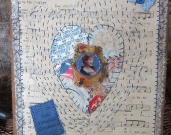 Art Quilt  FREE Shipping