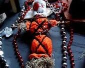 Authentic, Handmade Louisiana VOODOO DOLL - Doll Baby, Sympathetic Magick, Road Opener, Hoodoo, Pagan, Voudou