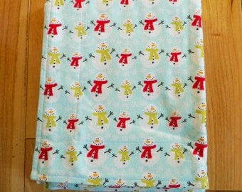 Baby/Toddler Blanket -  Do You Want to Build a Snowman?