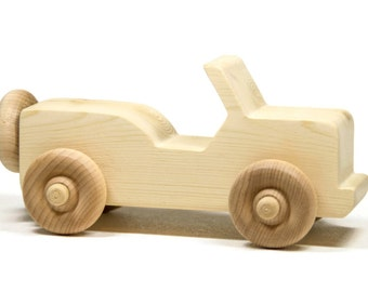 Wooden Toy Car Personalized Toddler Toy Children's Car