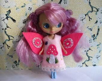 Flower Fairy Dress (Pink)