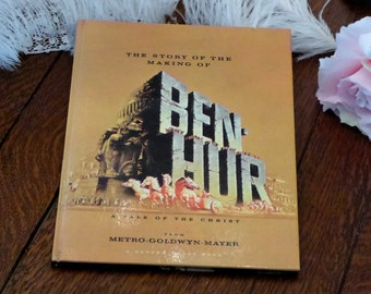 Souvenir Book Story of the Making of BEN-HUR 1959 Movie Motion Picture Film