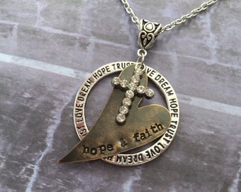 Hope and Faith Necklace
