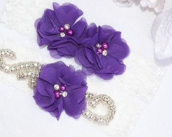 SALE vintage garter , bridal garter, wedding garter, garter , lace garter, flower garter set