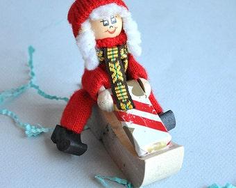Christmas Tomte Clog