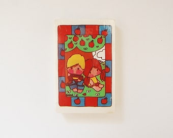 Vintage Playing Cards, Sealed Deck of Cards, 80's Hallmark Urchins Style Kids Trump Cards