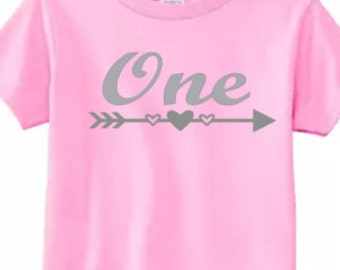 One shirt, Glitter, Silver or Gold, pick your size, 1st Birthday, I'm 1, Birthday party shirt, Girls, toddler sizes, pick your color, two, 3