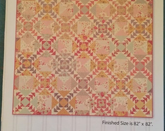 """Into the Wind paper quilt pattern by Miss Rosie""""s quilt company"""