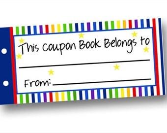 Diy blank coupons | Etsy