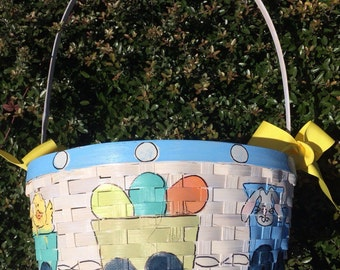 Handpainted Easter Baskets