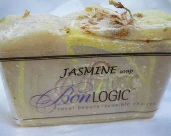 JASMINE Scented made with Oilve Oil by Bon Logic