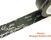 Japanese Washi Masking Tape - Sign - 11 yards