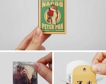 Matchbox Sticker Set - Peter Pan - 48 Pcs