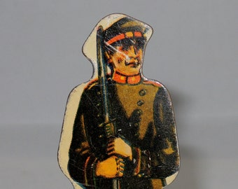 Vintage Marx Tin Litho Russian Infantry Foot Soldier