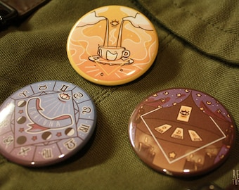 fortune telling divination buttons