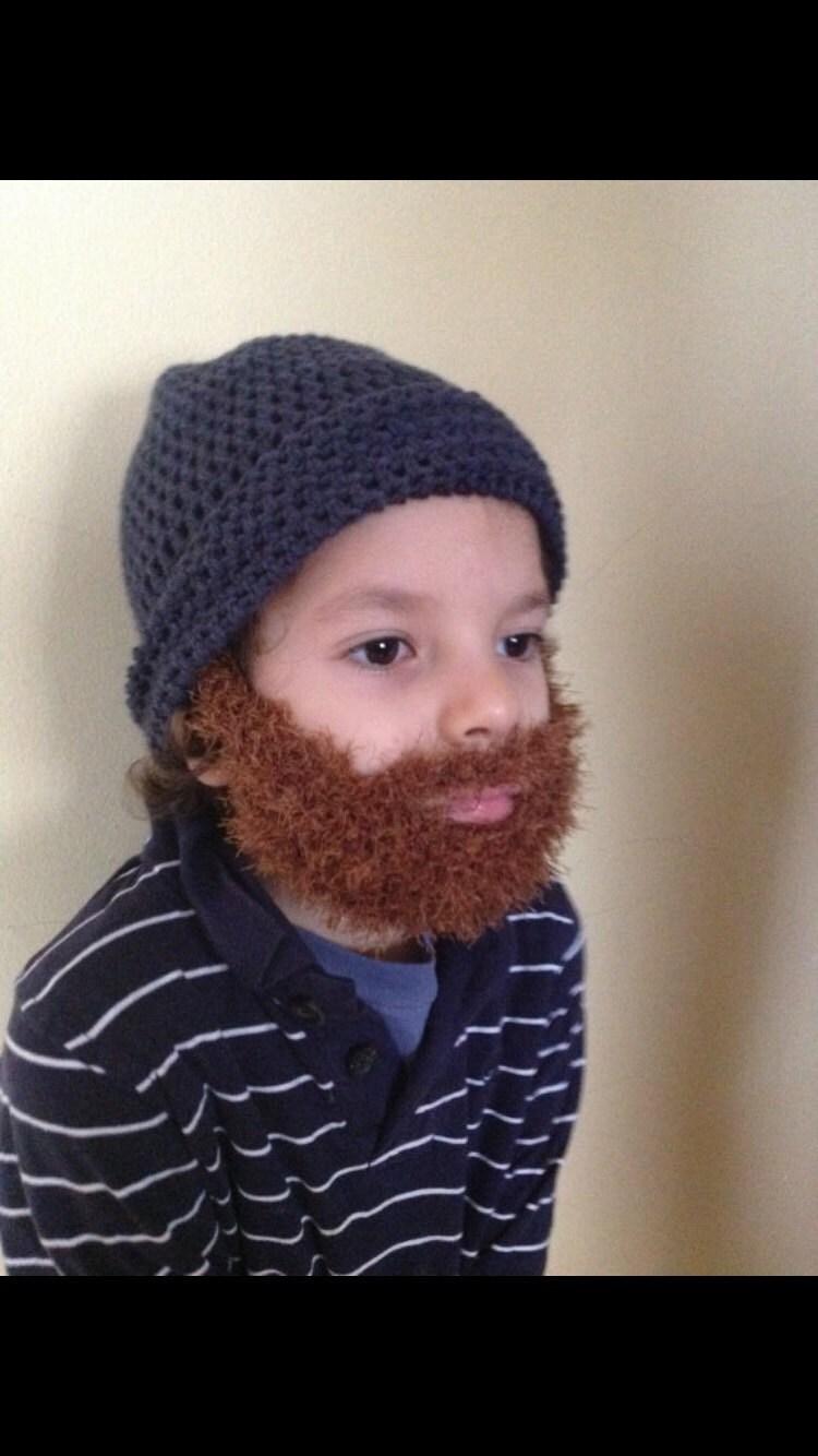 Handmade Crochet Beard hat PATTERN, Toturial pdf file, Irish beard ...