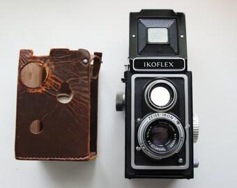 Zeiss Ikon Ikoflex Medium format Teronar Anastigmat 75mm f/3.5 Zeiss Opton Tessar Lens. Made In Germany