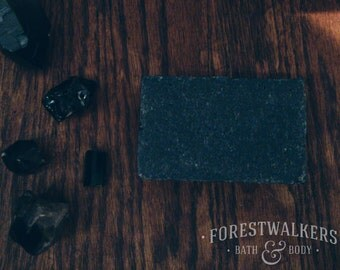 Activated Charcoal Soap - Vegan, Cruelty Free, Handmade and Natural - Forestwalkers