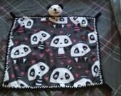 Panda Cuddle Blanket