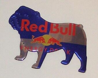BULLDOG Magnet - Red Bull Energy Drink Can