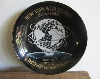 "1964-65 New York World's Fair ""Peace Through Understanding"" Unisphere Dish."